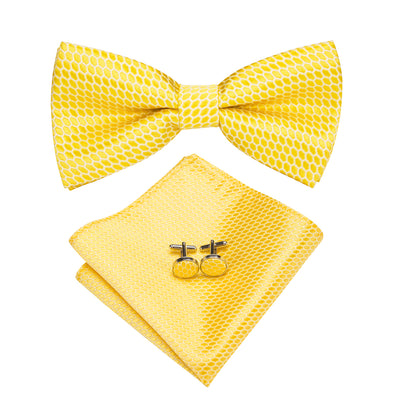 Canary Bow Tie Set