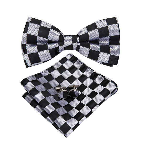 Checkmate Bow Tie Set