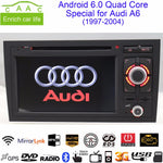 "Android 7.1.1 Quad Core GPS Navi 7"" Car DVD Player for Audi A6 1997-2004 with Bluetooth/RDS/Radio/WIFI/3G/USB/Canbus/Mirrorlink"