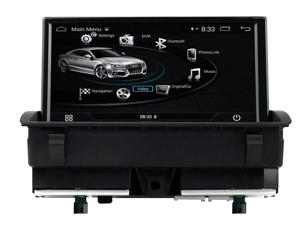 Android Car Multimedia Player for Audi Q3 2011 2012 2013 2014 2015 with GPS Navigation Stereo DVD USB AUX SD WiFi 4Core Map