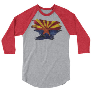 3/4 Arizona Flag Tee
