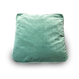 Square Velvet Green Floor Cushion