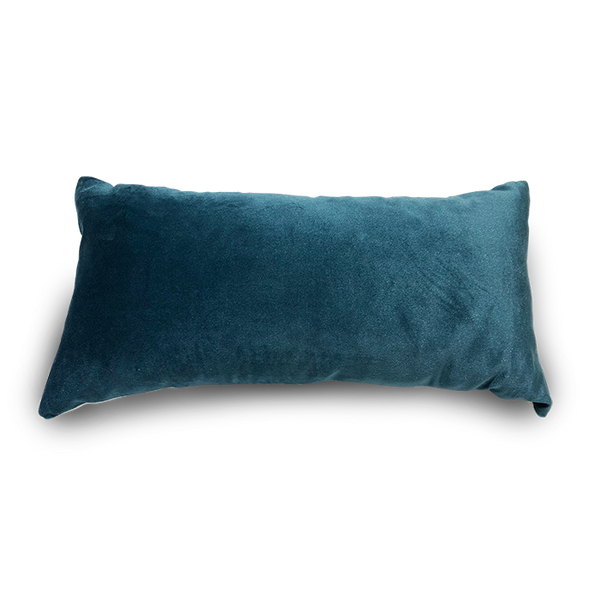 Rectangle Velvet Teal Scatter Cushion