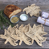 Jute Palm Leaf Trivets