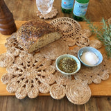 Jute Large Placemat Retro Spice