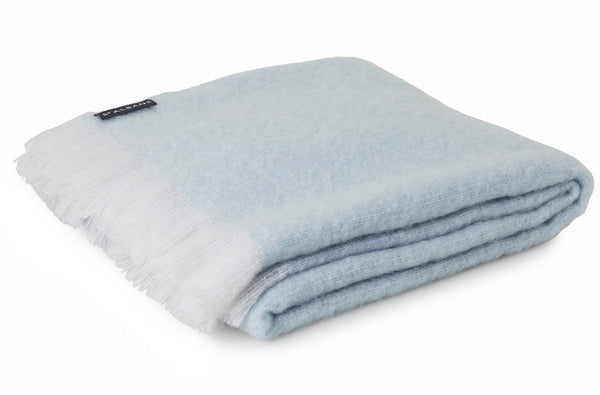 Soft Mohair Throw Blanket