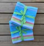 Coastal Tea Towels Set of 3