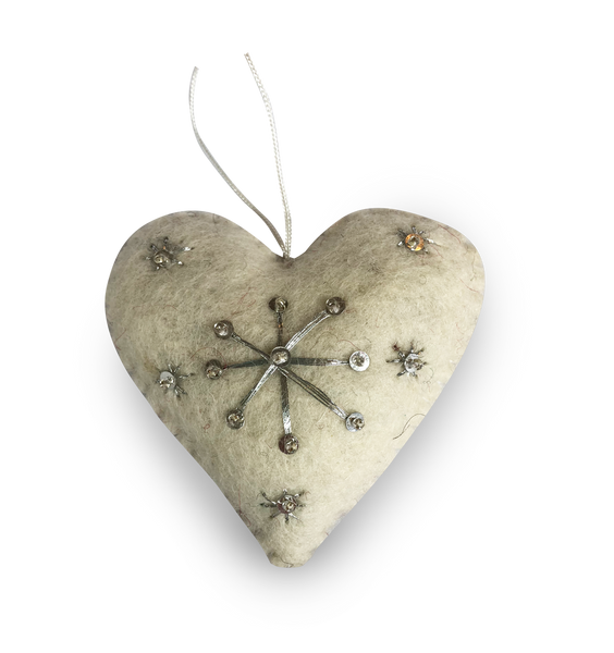 Heart Felt Christmas Decorations