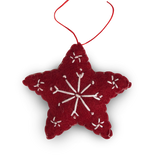 Star Felt Christmas Decorations