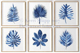Large Professionally Framed Tropical Leaf Prints