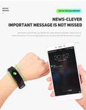 20 X HD Touch Screen Waterproof health Fitness Monitor Smart Bracelet Watch
