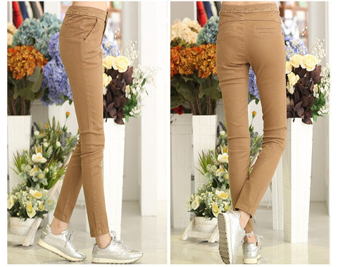40 X Girls and Ladies Fashion Skinny Slim Pants