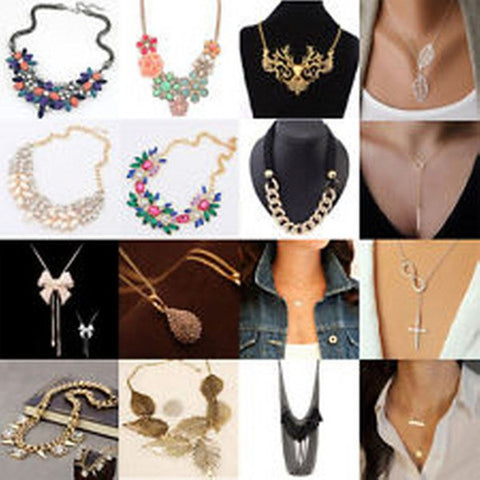 125 X Celebrity Statement Beads Necklaces and More. Assorted Styles