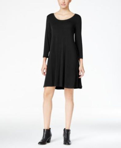 Style & Co. Three-Quarter-Sleeve Shift Dress #281 size XS