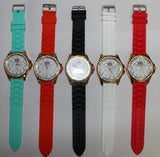 25 X Crystal surrounding British Flag Watch