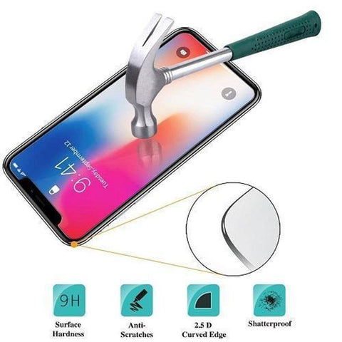 100 X Iphone XR 9H Tempered Glasses Screen Protectors with Package