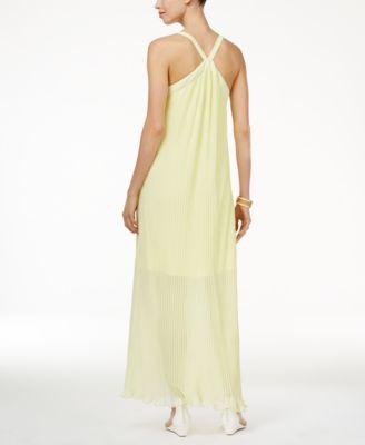 Thalia Sodi Pleated Maxi Dress #530 size L
