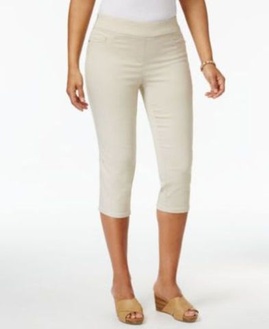 Jm Collection Pull-On Capri Pants #710 size 16