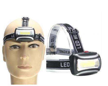 100 X Headlamp LED Zoom 3 Mode Outdoor Fishing, Camping