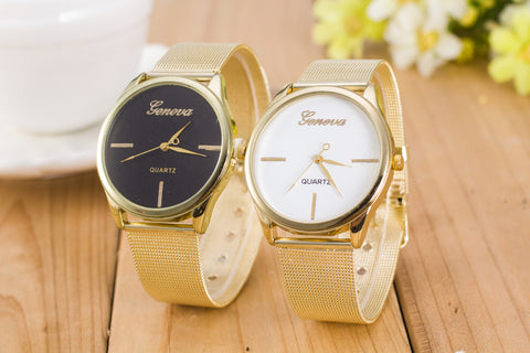 24 X Golden Wrist Gevena Watch for his and hers