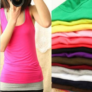 48 X Strap Tank Top in Assorted Color