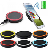 40 X New Wireless Charging Pads & Charger Adapter Cards in Retail Packaging