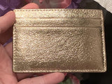Kate Spade New York Highland Drive Card Holder Soft Rose Gold Bright Pink