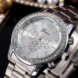 25 X Ladies Geneva with Crystal Dials Watch