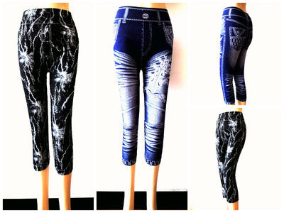 60 X Ladies Short Legging