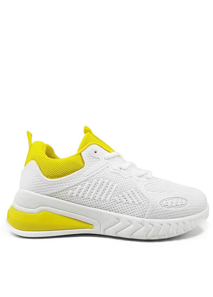 Γυναικεία Sneakers Yellow White
