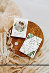 Eucalyptus Greenery Photo Save the Date Template