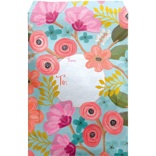 Large Floral Printed Padded Mailing Envelopes, Gypsy (12 Pcs)