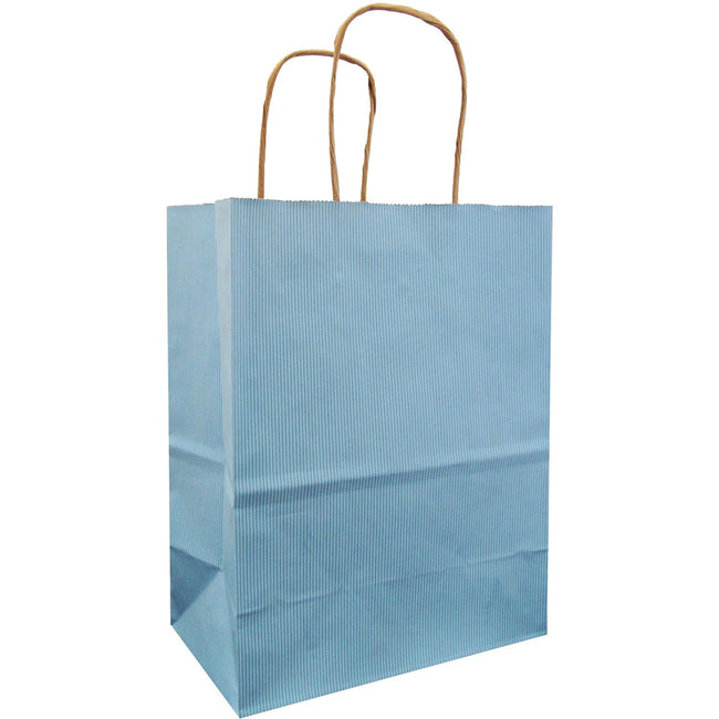 Jillson & Roberts Medium Kraft Bags, Pastel Blue