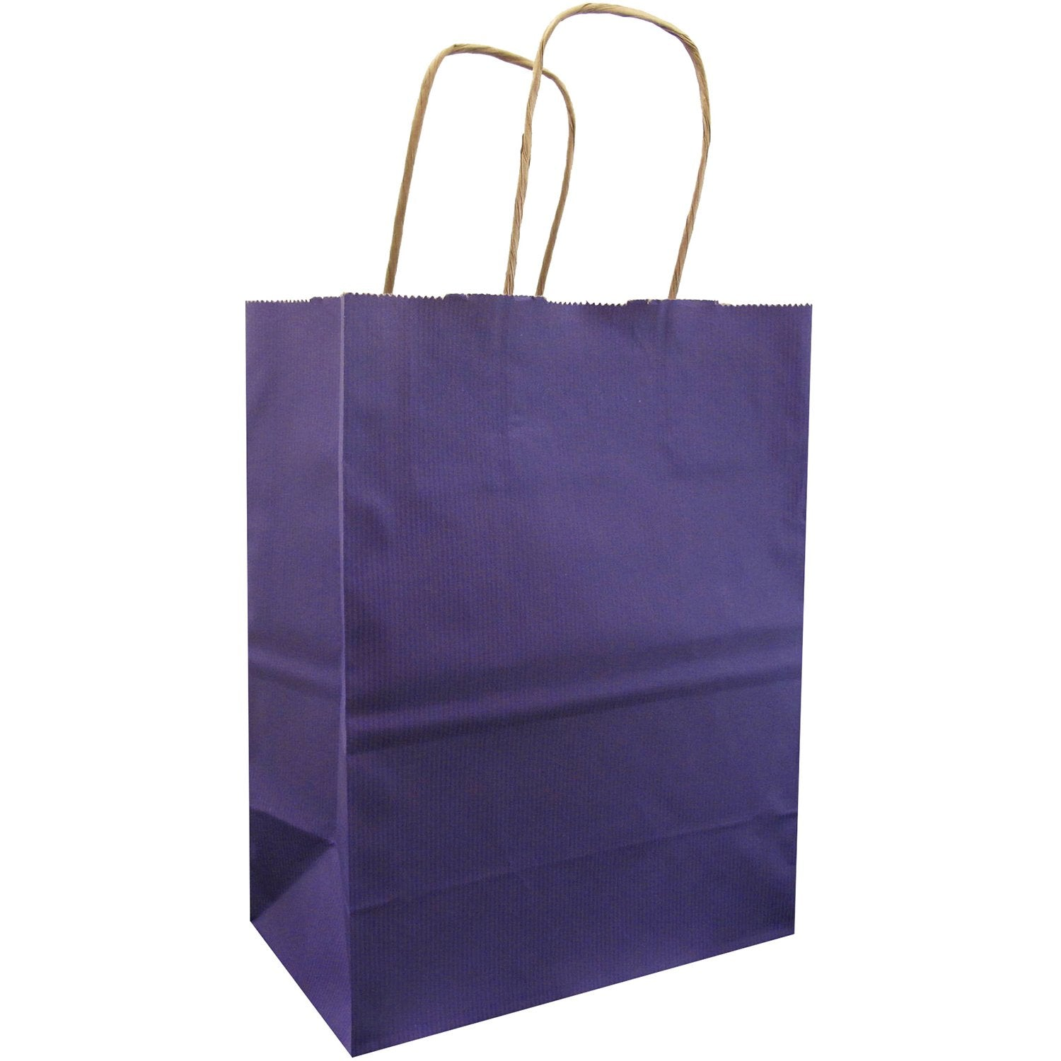 Jillson & Roberts Medium Kraft Bags, Purple