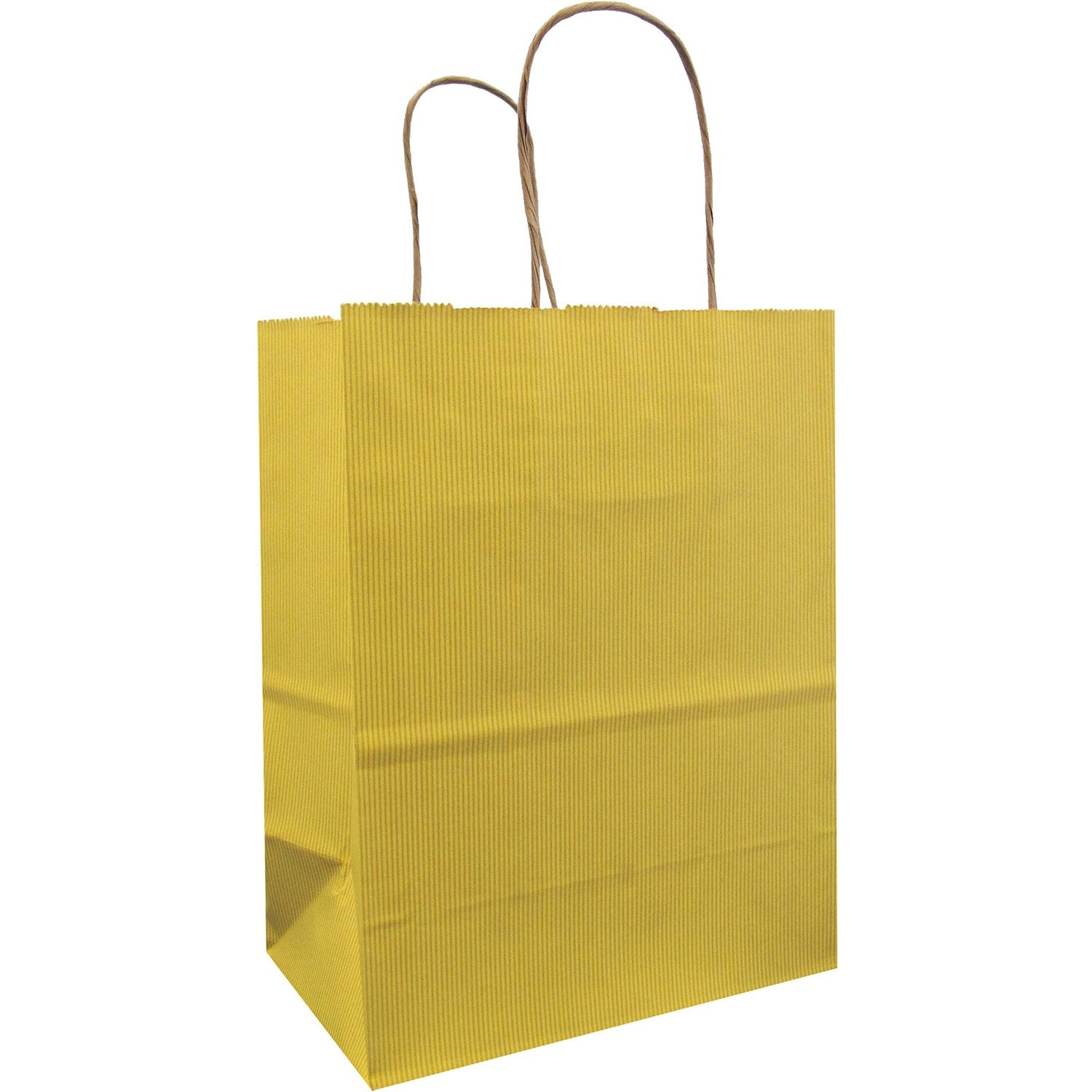 Jillson & Roberts Medium Kraft Bags, Yellow