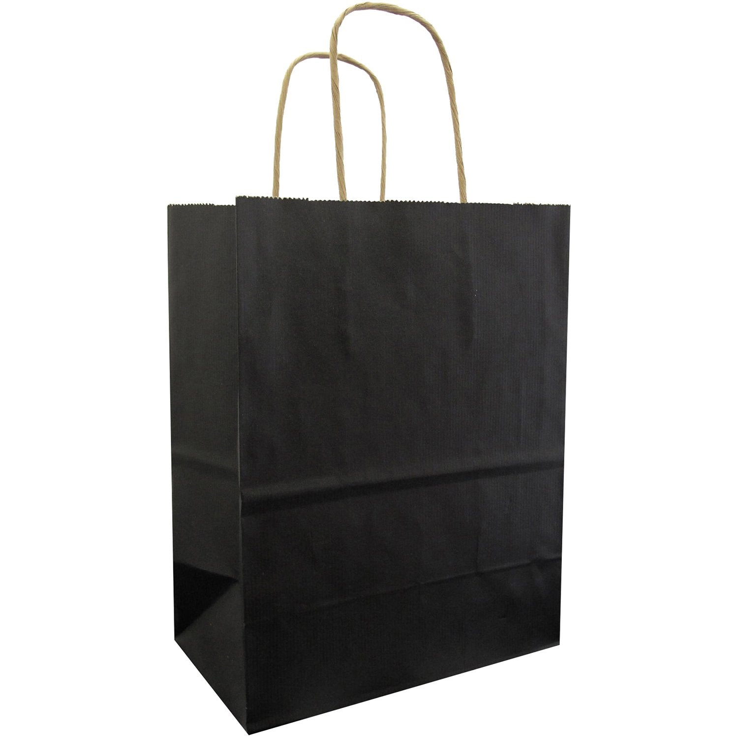 Jillson & Roberts Medium Kraft Bags, Black