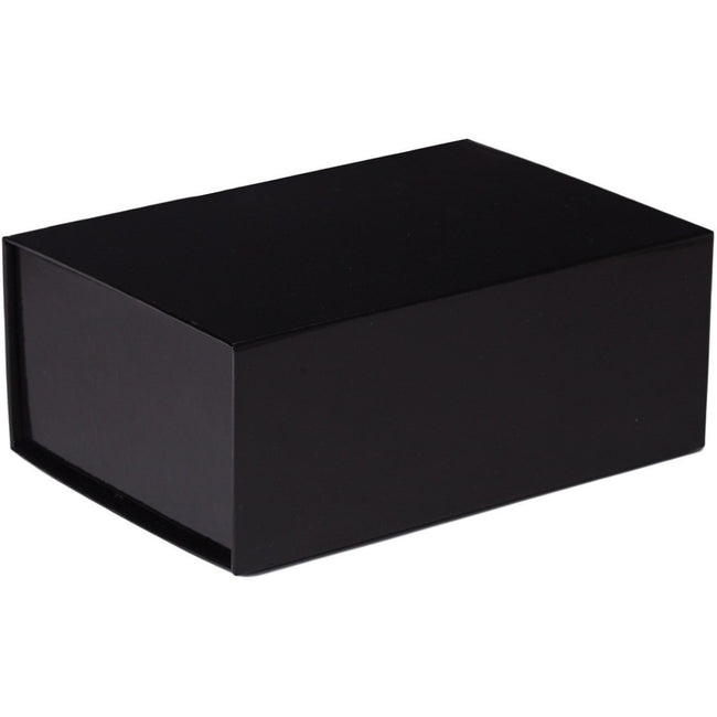 Jillson & Roberts Medium Gift Box with Magnetic Closure, Black Gloss (12 Pcs)