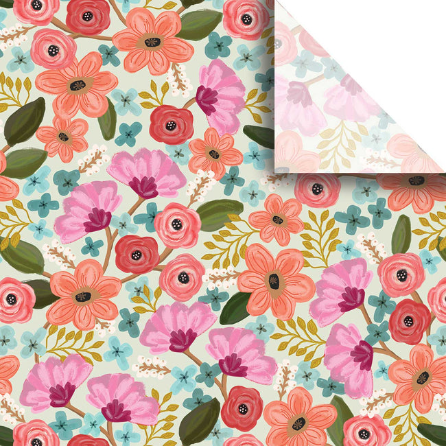"Bulk Pack Floral Design Gift Tissue Paper 20"" x 30"", Gypsy, 240 Sheets"