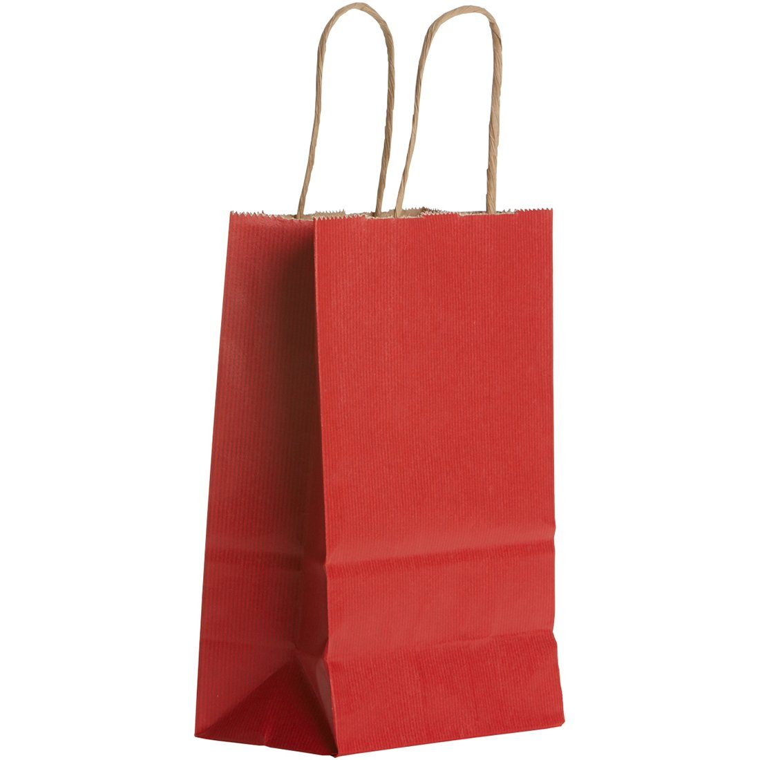 Jillson & Roberts Small Kraft Bags, Red