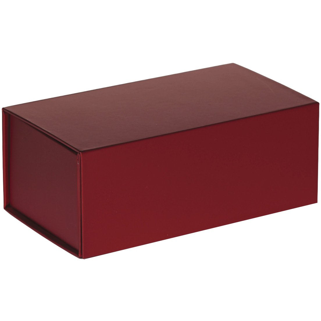 Jillson & Roberts Small Gift Box with Magnetic Closure, Metallic Red Matte (12 Pcs)