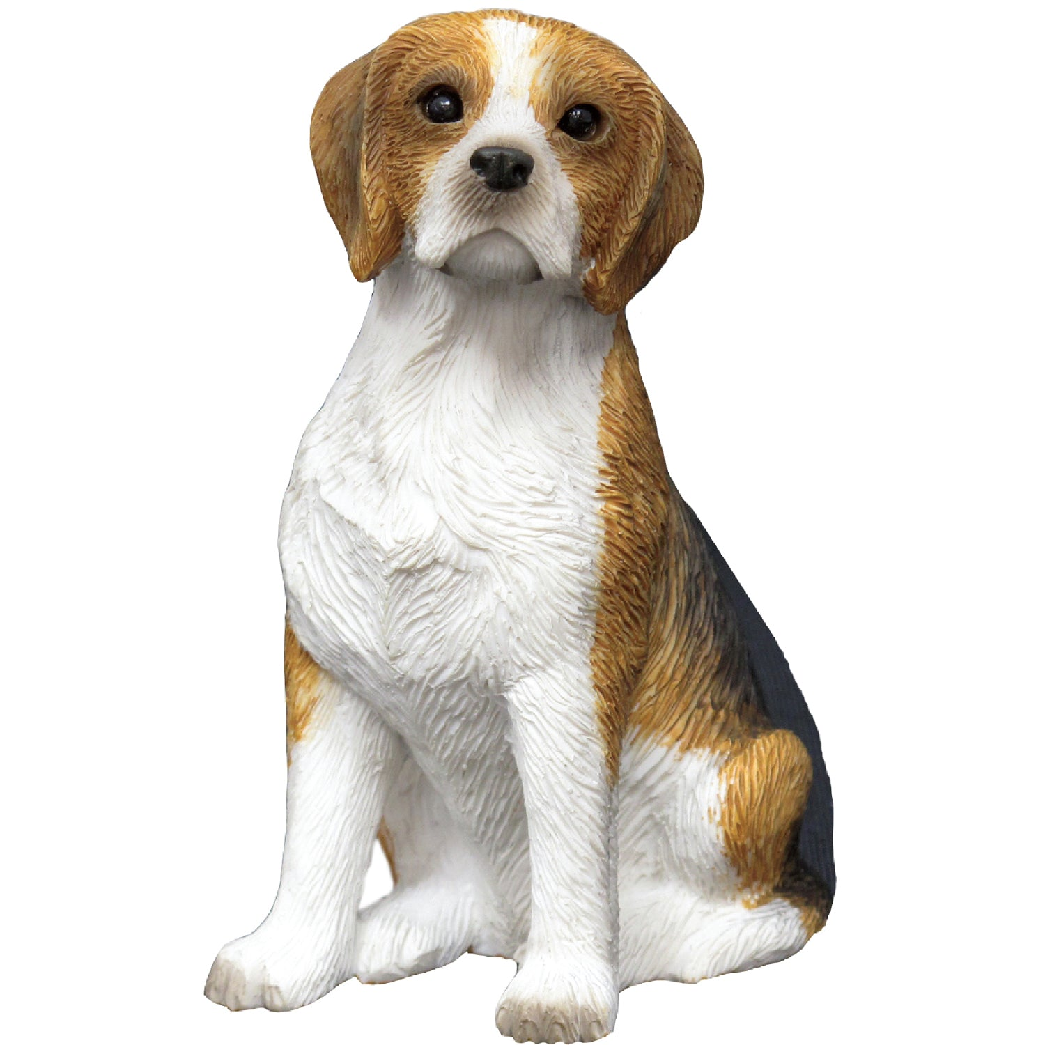 "Sandicast ""Small Size"" Sitting Beagle Dog Sculpture"