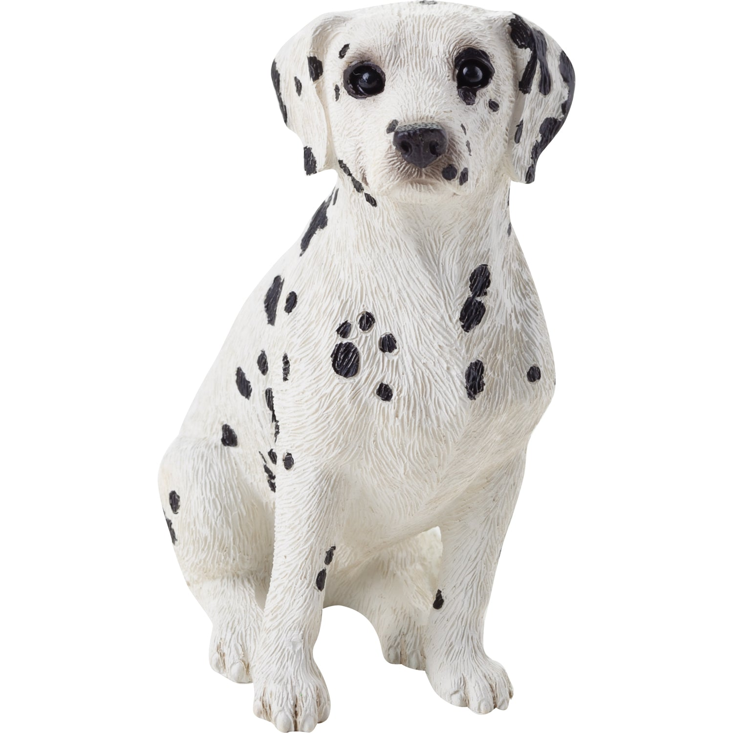"Sandicast ""Small Size"" Sitting Dalmatian Dog Sculpture"