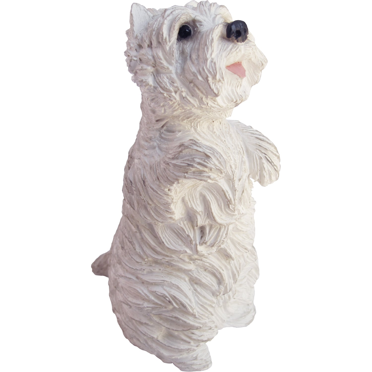 "Sandicast ""Small Size"" Sitting Pretty West Highland White Terrier Dog Sculpture"