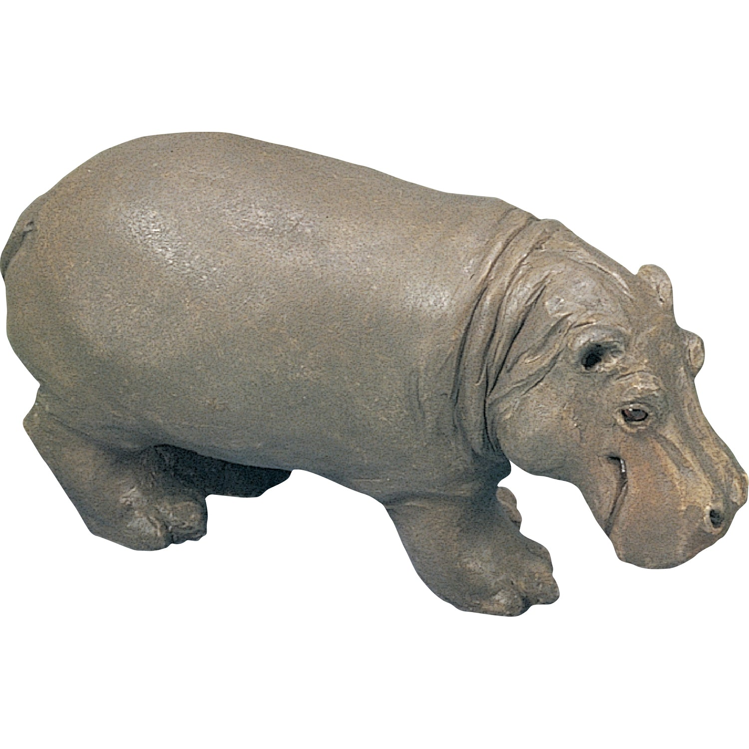 "Sandicast ""Small Size"" Hippopotamus Sculpture"