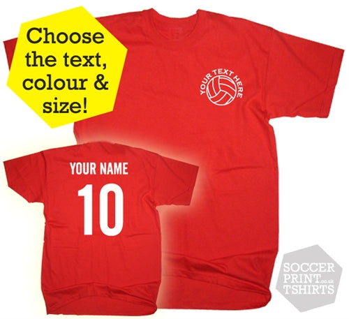 personalised football jersey
