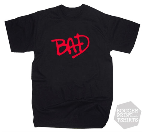 Michael Jackson Bad Album Logo T-Shirt