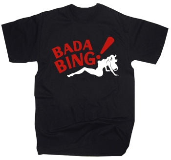 The Sopranos Bada Bing sign Logo T-Shirt