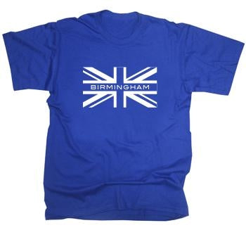 Birmingham City Union Jack T-Shirt