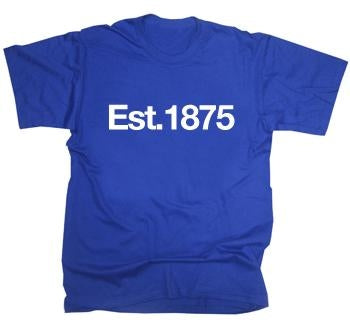 Blackburn Rovers Established 1875 T-Shirt