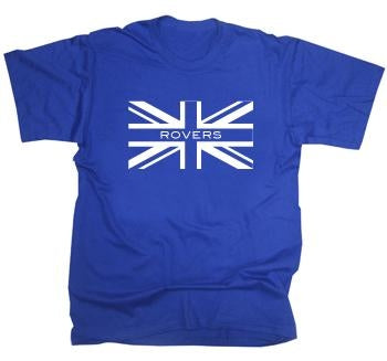 Blackburn Rovers Union Jack T-Shirt